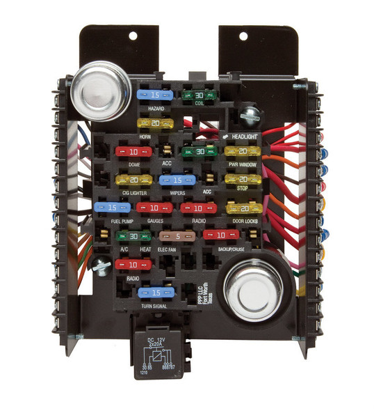 PAINLESS WIRING PWI30003 18 Circuit Fuse Center  Performance Oil Shop