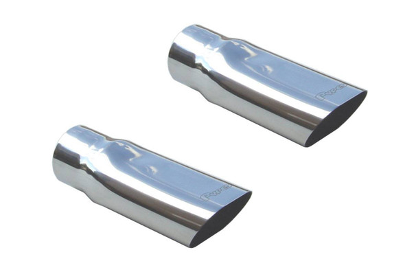 PYPES PERFORMANCE EXHAUST PYPEVT54 Exhaust Tips Slip Fit 2.5in to 3.5in Pair Performance Oil Shop