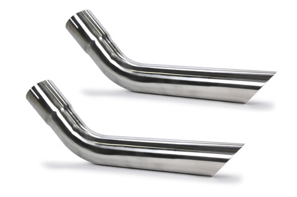 PYPES PERFORMANCE EXHAUST PYPEVT58 Exhaust Tips Slip Fit 2.5in Pair (Long) Performance Oil Shop