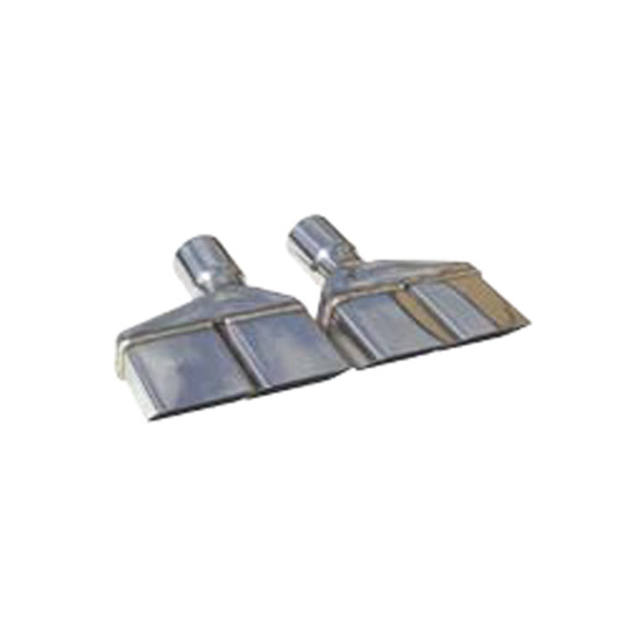 PYPES PERFORMANCE EXHAUST PYPEVT88 Exhaust Tips Slip Fit 3in Dual Rectangle Slant Performance Oil Shop