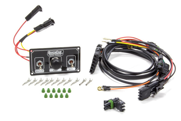 QUICKCAR RACING PRODUCTS QRP50-2037 Ignition Harness / Panel Black Modified Performance Oil Shop