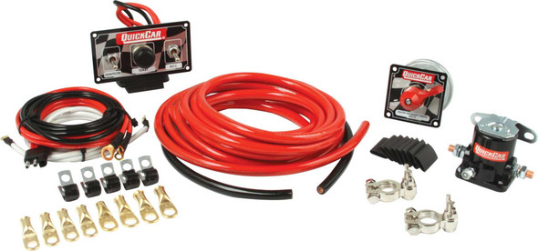 QUICKCAR RACING PRODUCTS QRP50-232 Wiring Kit Premium 4 Gauge Performance Oil Shop