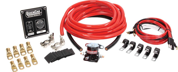 QUICKCAR RACING PRODUCTS QRP50-834 Wiring Kit 2 Gauge with 50-802 Switch Panel Performance Oil Shop