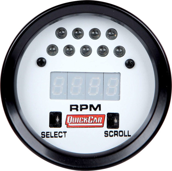 QUICKCAR RACING PRODUCTS QRP611-7010 Extreme LCD Digital Tach  Performance Oil Shop