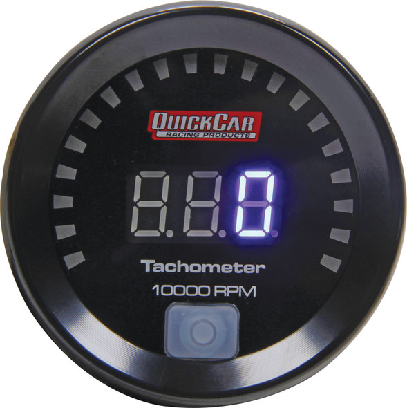 QUICKCAR RACING PRODUCTS QRP67-001 Digital Tachometer 2-1/16in Performance Oil Shop