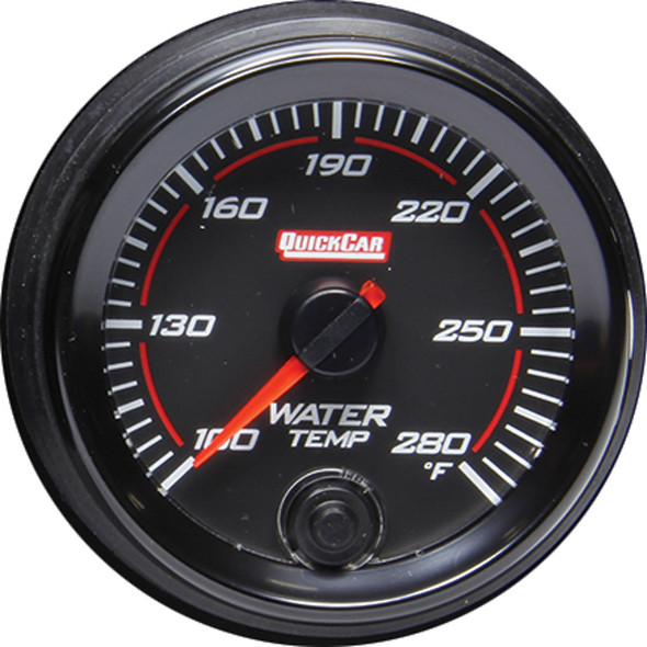 QUICKCAR RACING PRODUCTS QRP69-006 Redline Gauge Water Temperature Performance Oil Shop