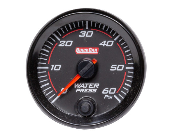 QUICKCAR RACING PRODUCTS QRP69-008 Redline Gauge Water Pressure Performance Oil Shop