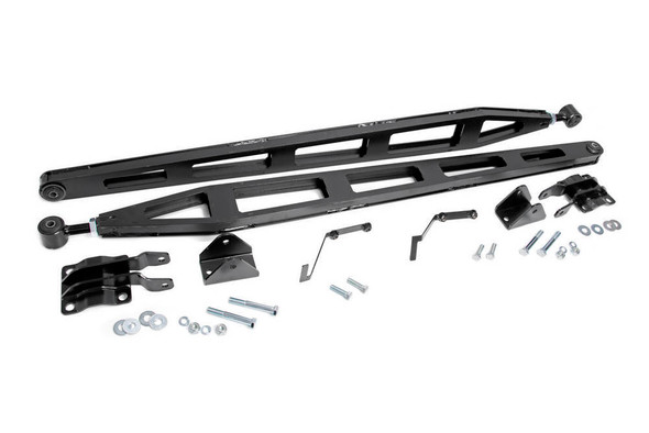 ROUGH COUNTRY RCS1070A Ford Traction Bar Kit 15-19 Ford F-150 4WD Performance Oil Shop
