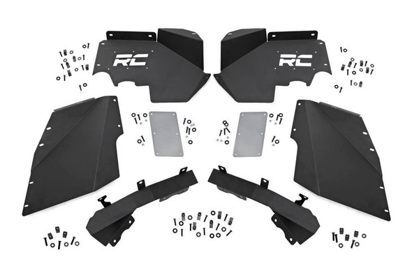 ROUGH COUNTRY RCS1195 07-18 Jeep Wrangler JK F ront Ineer Fenders Performance Oil Shop
