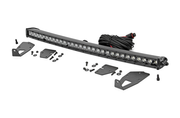 ROUGH COUNTRY RCS70702 Ford 30in LED Hidden Gri lle Kit (17-19 F-150 Rap Performance Oil Shop