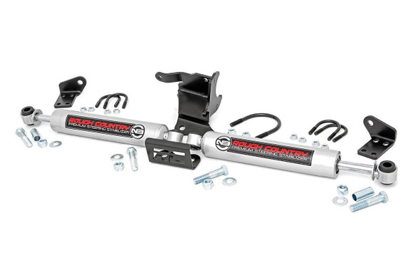 ROUGH COUNTRY RCS87304 18-   Jeep JL N3 Dual Steering Stabilizer Performance Oil Shop