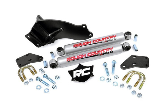 ROUGH COUNTRY RCS87494.20 14-   Dodge Ram 2500 DUal Steering Stabilizer Performance Oil Shop