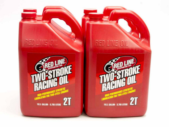 REDLINE OIL RED40625 2 Cycle Racing Oil Case 4x1 Gallon Performance Oil Shop