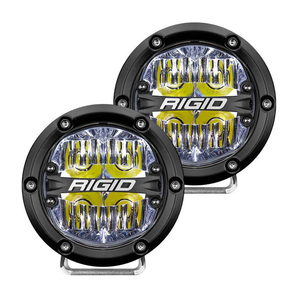 RIGID INDUSTRIES RIG36117 LED Light 360 Series 4in Drive Beam  Pair Performance Oil Shop