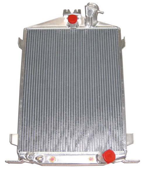 RACING POWER CO-PACKAGED RPCR1032 1932 Ford Hi-Boy Alum inum Radiator Performance Oil Shop