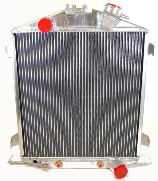 RACING POWER CO-PACKAGED RPCR1034 1932 Ford Lo-Boy Alum inum Radiator Performance Oil Shop