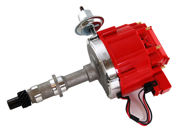 RACING POWER CO-PACKAGED RPCR3922 Pontiac HEI Distributor 50K Volt Coil - Red Performance Oil Shop