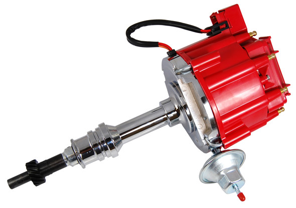 RACING POWER CO-PACKAGED RPCR3923 Ford 351W HEI Distributo r 50K Volt Coil -Red Performance Oil Shop