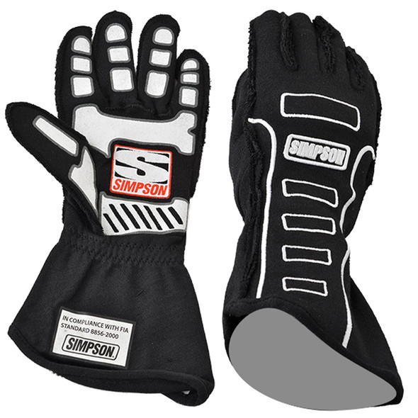 SIMPSON SAFETY SIM21300XK-O Competitor Glove X-Large Black Outer Seam Performance Oil Shop