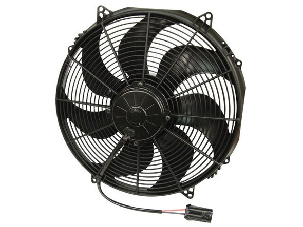 SPAL ADVANCED TECHNOLOGIES SPA30102803 16in Puller Fan Curved Blade Performance Oil Shop