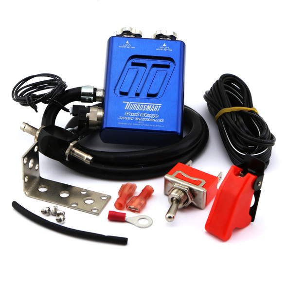TURBOSMART USA TBSTS-0105-1101 Dual Stage V2 Boost Controller Blue Performance Oil Shop