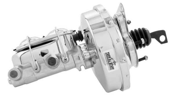 TUFF-STUFF TFS2125NA 9in Diaphram Booster/ Master Cylinder Chrome Performance Oil Shop