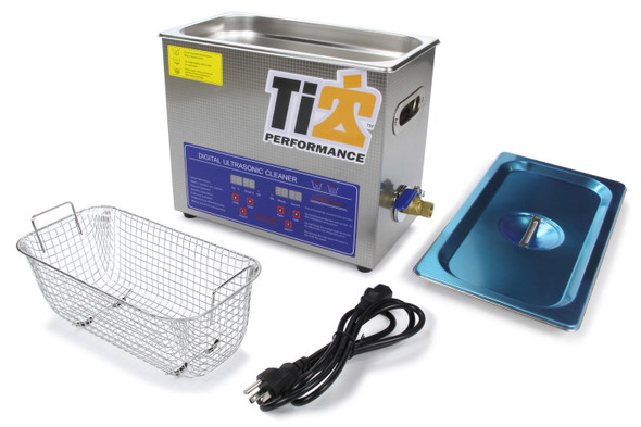Ti22 PERFORMANCE TIP8580 Ultrasonic Cleaner With 9in Stainless Basket Performance Oil Shop