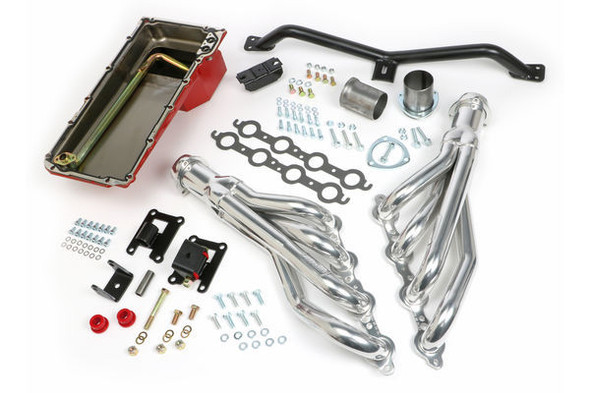 TRANS-DAPT TRA42042 Swap In A Box Kit-LS Engine Into 67-72 GM Trk Performance Oil Shop