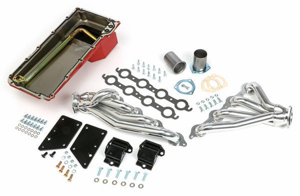 TRANS-DAPT TRA42922 Swap In A Box Kit-LS Engine Into 64-67 A-Body Performance Oil Shop