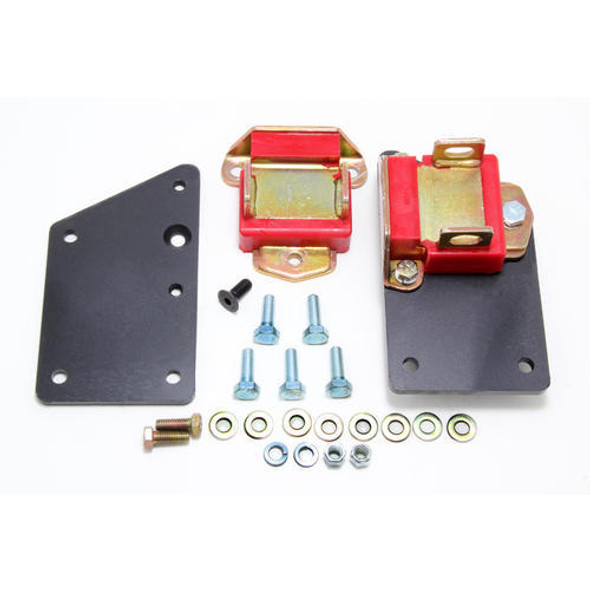 TRANS-DAPT TRA4582 LS1 Into SBC Chassis Motor Mount Kit Performance Oil Shop