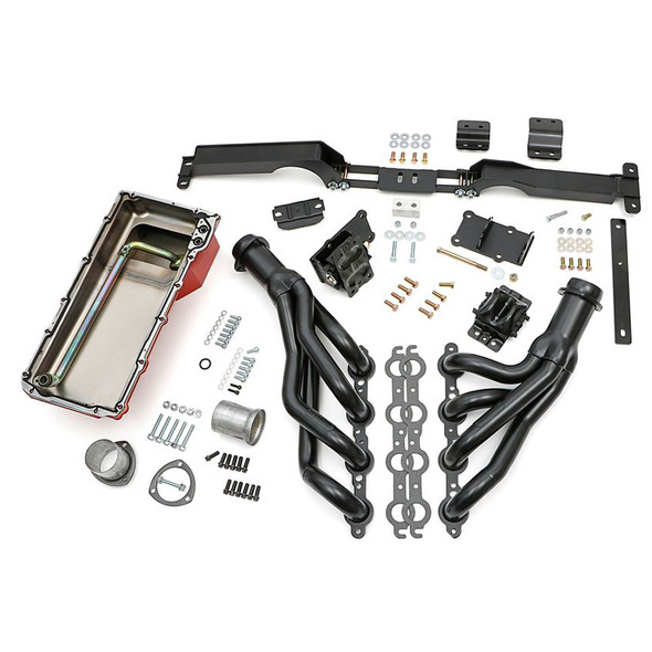 TRANS-DAPT TRA48061 Swap In A Box Kit LS Eng ine Into 82-88 GM G-Body Performance Oil Shop