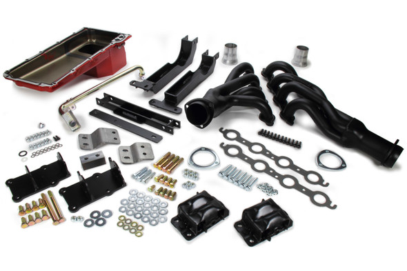 TRANS-DAPT TRA48063 Swap In A Box Kit LS ine Into 82-88 GM G-Body Performance Oil Shop