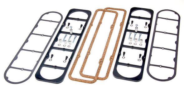 TRANS-DAPT TRA6138 LS Valve Cover Adapter Plates for SB Chevy Performance Oil Shop