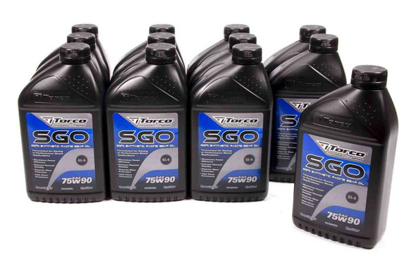 TORCO TRCA257590C SGO 75w90 Synthetic Racing Gear Oil Case/12 Performance Oil Shop