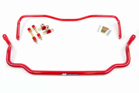 UMI PERFORMANCE UMI403534-R 64-72 GM A-Body Front and Rear Sway Bars Performance Oil Shop