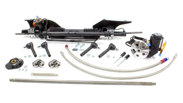 UNISTEER PERF PRODUCTS UNI8010890-01 Power Rack & Pinion - 65-66 Mustang Performance Oil Shop