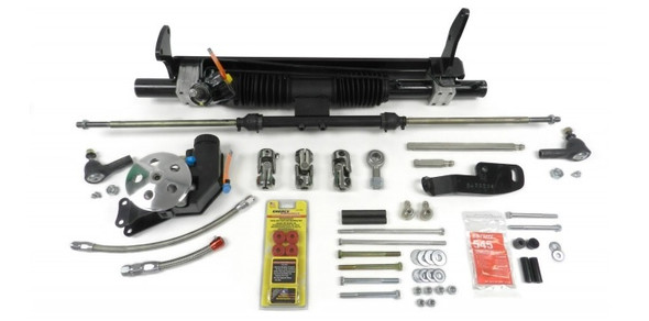UNISTEER PERF PRODUCTS UNI8012400-01 Power Rack & Pinion Kit 78-88 GM G-Body w/SBC Performance Oil Shop