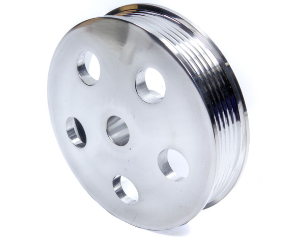 UNISTEER PERF PRODUCTS UNI8020710 Serpentine Pulley - Polished Aluminum Performance Oil Shop