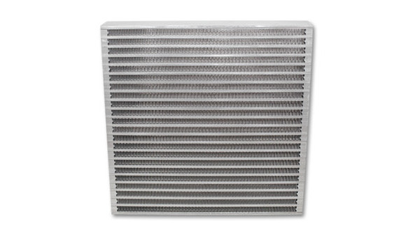 VIBRANT PERFORMANCE VIB12897 Universal Oil Cooler Core 12in x 12in x 2in Performance Oil Shop