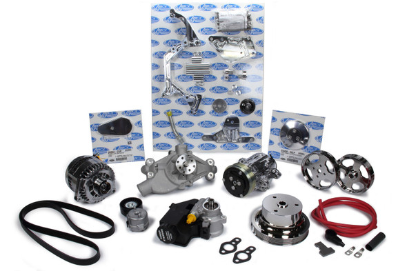 VINTAGE AIR VIN174015 SBC Front Runner Drive System w/Power Steering Performance Oil Shop