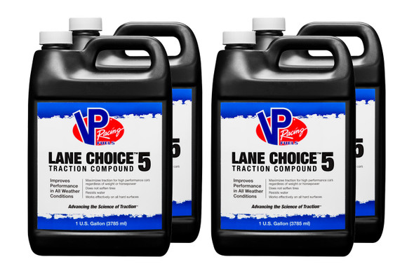 VP FUEL CONTAINERS VPF23514 VP Traction Compound Lane Choice Gal (Case 4) Performance Oil Shop