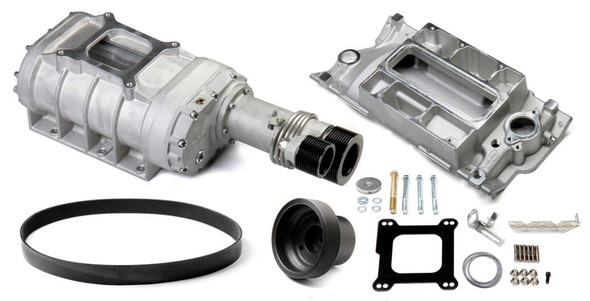 WEIAND WEI6512-1 SBC 177 Supercharger Kit - Satin Performance Oil Shop
