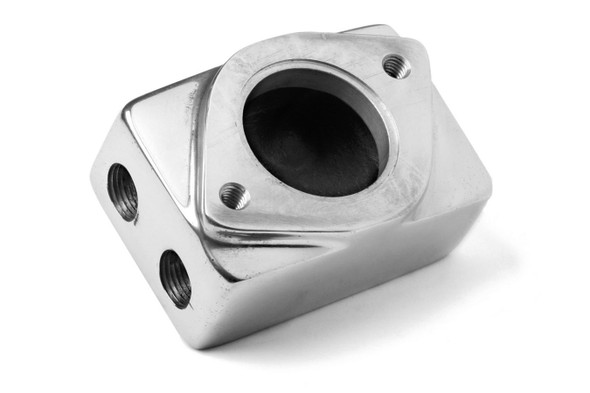 WEIAND WEI7134P Remote Thermostat Housing - Polished Performance Oil Shop