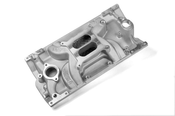 WEIAND WEI8121 SBC Vortec Action Plus Intake Manifold Performance Oil Shop