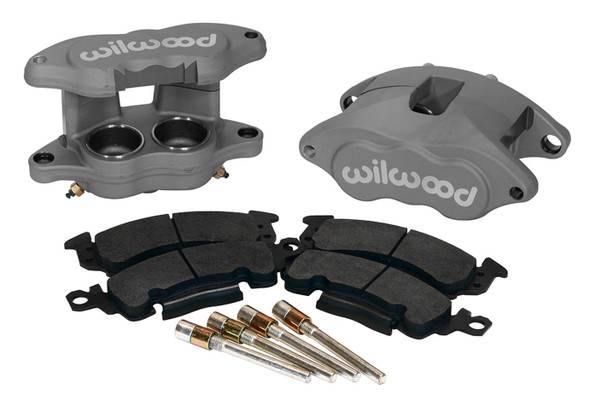 WILWOOD WIL140-11290 Front Caliper Kit D52 / Big GM Blk Anodize Performance Oil Shop