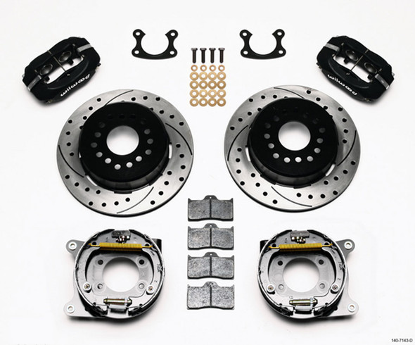 WILWOOD WIL140-7143-D P/S Park Brake Kit Small Ford 2.66in Performance Oil Shop
