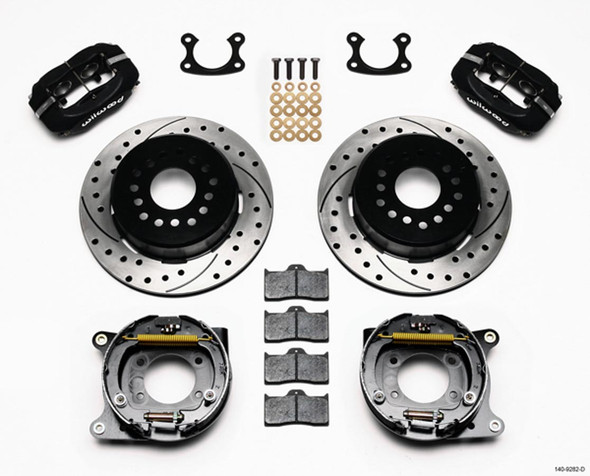 WILWOOD WIL140-9282-D P/S Park Brake Kit Small Ford 2.50in Performance Oil Shop