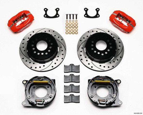 WILWOOD WIL140-9282-DR P/S Park Brake Kit Small Ford 2.50in Offset Performance Oil Shop