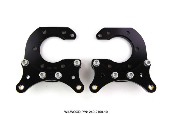 WILWOOD WIL249-2109/10 Brackets (2) New Style Big Ford Performance Oil Shop