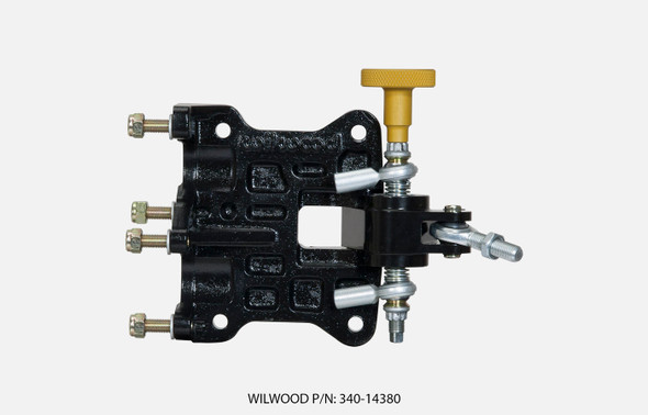 WILWOOD WIL340-14380 Pedal Assembly 60 Degree Tru-Bar Performance Oil Shop